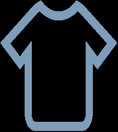 blue shirt icon